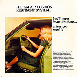 1974 Oldsmobile Air Cushion Brochure