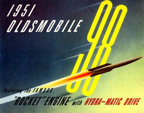 1951 Oldsmobile Brochure