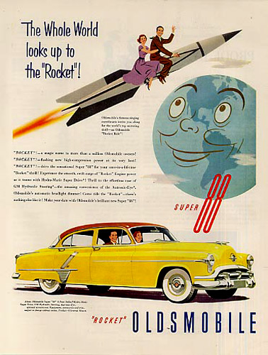1952 Oldsmobile Super 88 Ad