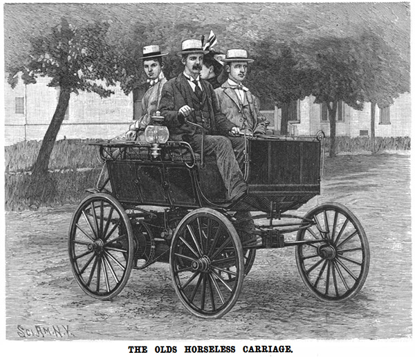 1896 Olds Horseless Carriage