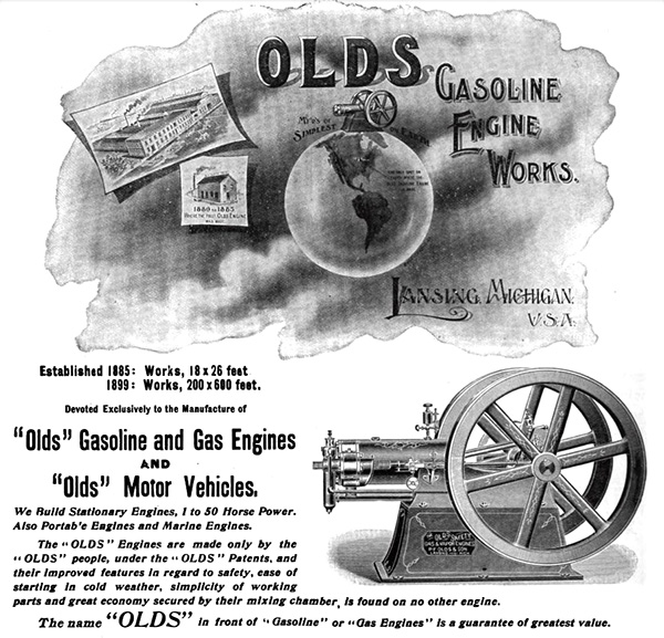1899 Olds Gasoline Engine Works