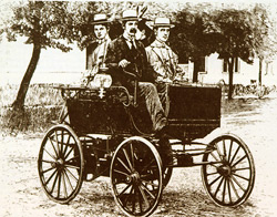 1896 Vapor Powered Vehicle