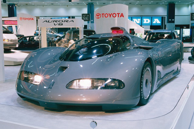 1992 Aerotech at the LA Autoshow in 1993