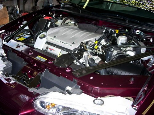 Final 500 Intrigue Engine Bay