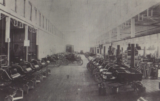 1902 Olds Motor Works Assembly Room