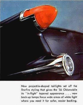 1956 Oldsmobile Tail lights