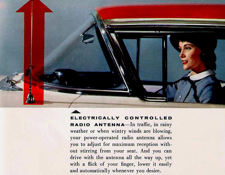 1958 Oldsmobile Power Antenna