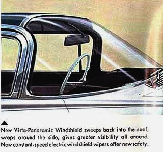 1959 Vista Panoramic Windshield by Oldsmobile