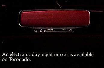 1984 Oldsmobile Day Night Mirror