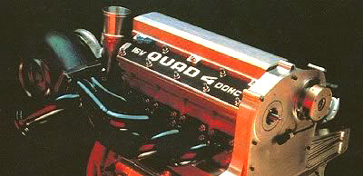 Quad 4 Engine powering the 1987 Aerotech