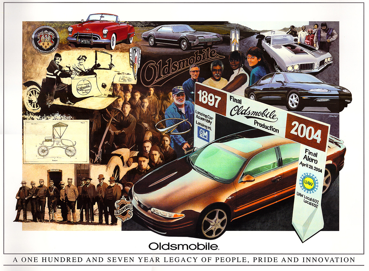 Oldsmobile Final Farewell Poster