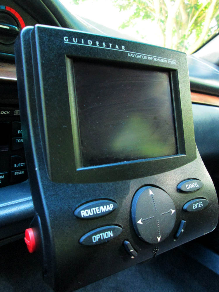 Factory mounted Guidestar on 1996 Oldsmobile 88 LS