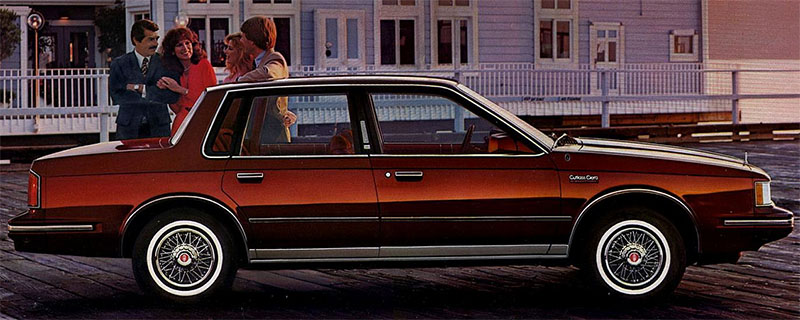 1983 Cutlass Ciera Brougham Sedan