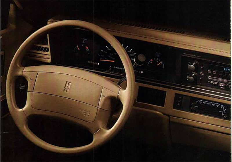 1996 Cutlass Ciera Interior