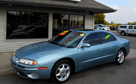 2003 Oldsmobile Aurora Steel Blue