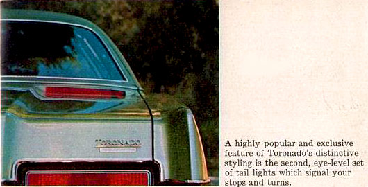 1972 Oldsmobile High Mount Lights